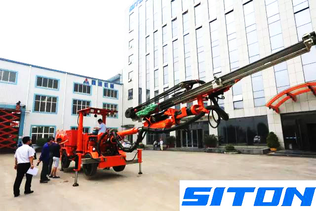 Siton hydraulic drilling jumbo has passed inspection by CCIC customer agsined third inspection group