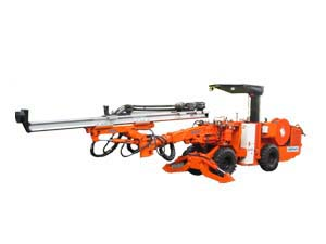 DW1-23 Wheel Single boom drilling jumbo